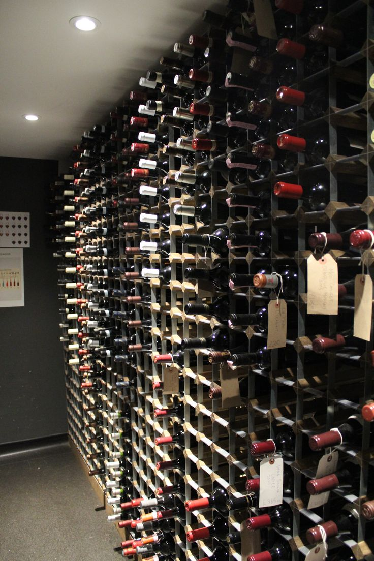 Our bespoke traditional wine rack calculator is now live for Cost to build wine cellar