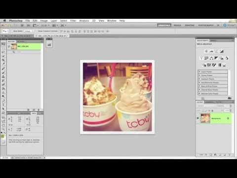 Video tutorial for how to DIY print your Instagram photos
