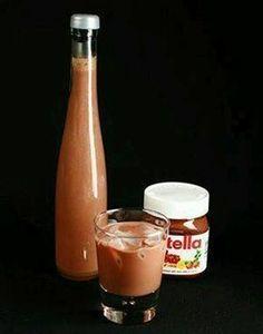 Csodálatos, finom, lágy Nutella krémlikőr