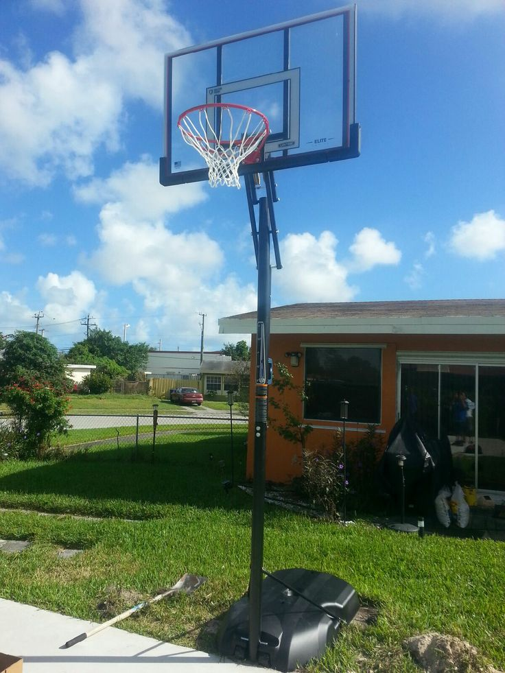 166 best images about Portable Basketball Goals on ...