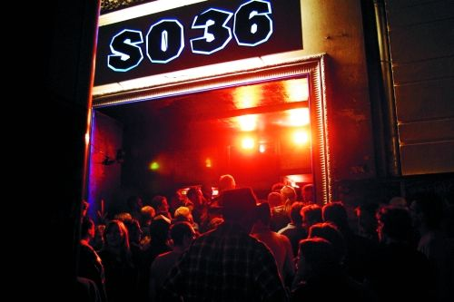 """""""The SO 36"""" is one of the more famous clubs in Berlin as there is often good live music."""