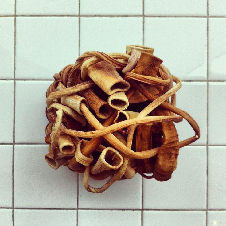 Lina Prarie woven kelp basket at Ogaard Textile Work