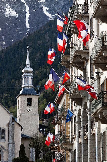 Chamonix - Veille de fête - France