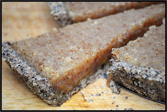 Garnkofilia: TARTA MIODOWO-CYTRYNOWA - słodka i bardzo aromatyczna