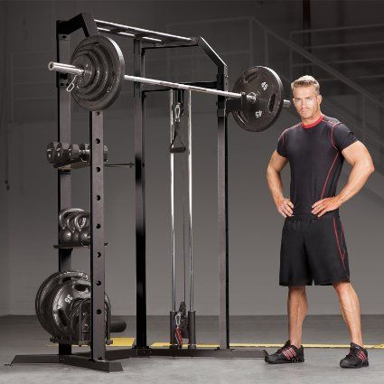 Amazon.com : Marcy Power Cage Home Gym : Sports & Outdoors