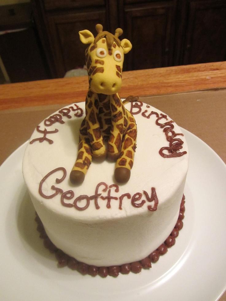 Giraffe kake