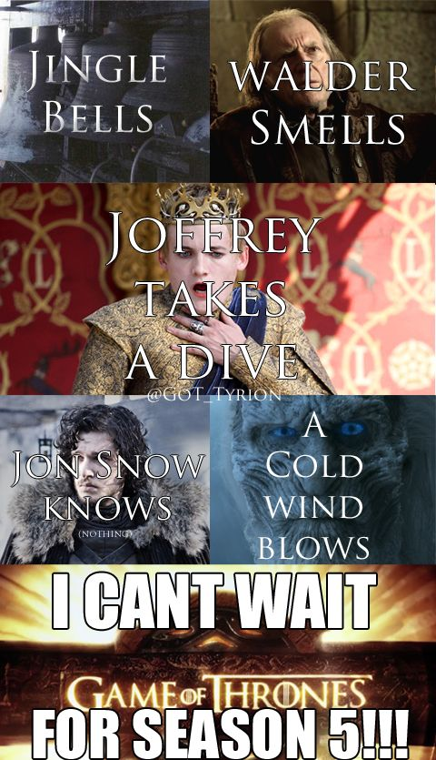Jingle bells Game of Thrones style