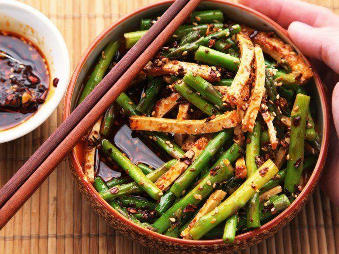tofu zubereiten rezepte mit tofu und spargeln