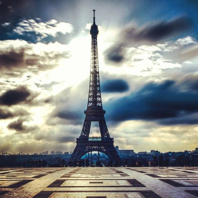 Eiffel Tour  - Imagine the adrenaline you would get from jumping from this #basejump #wingsuit