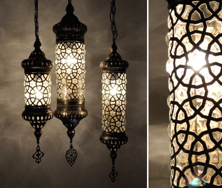 Lampes turques.