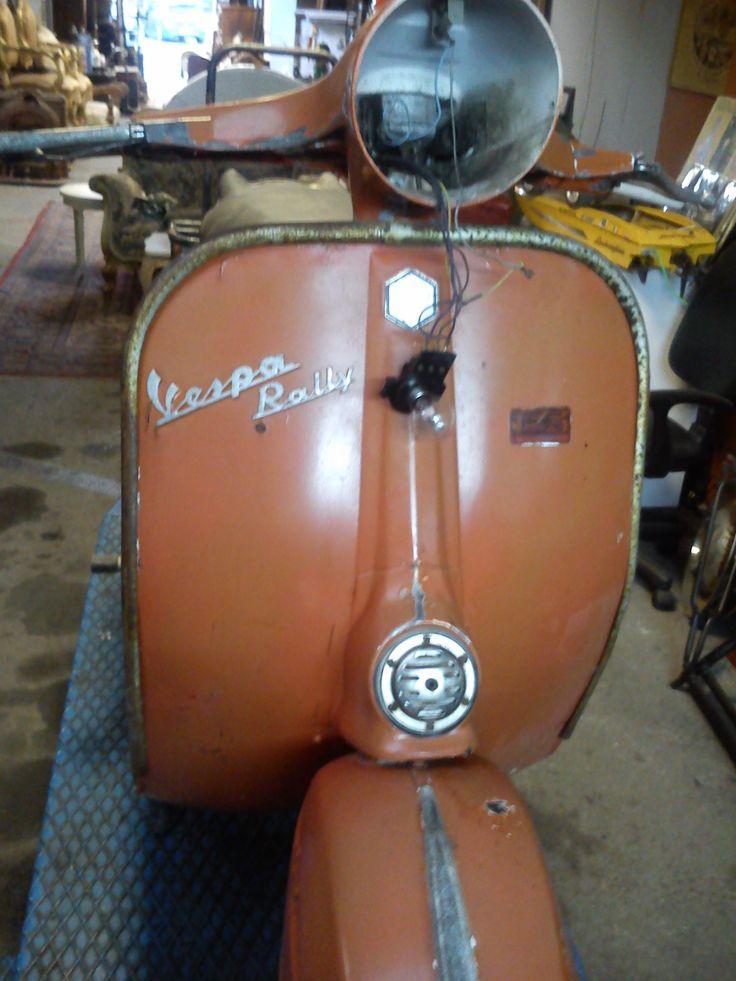 Vespa Rally before restoration