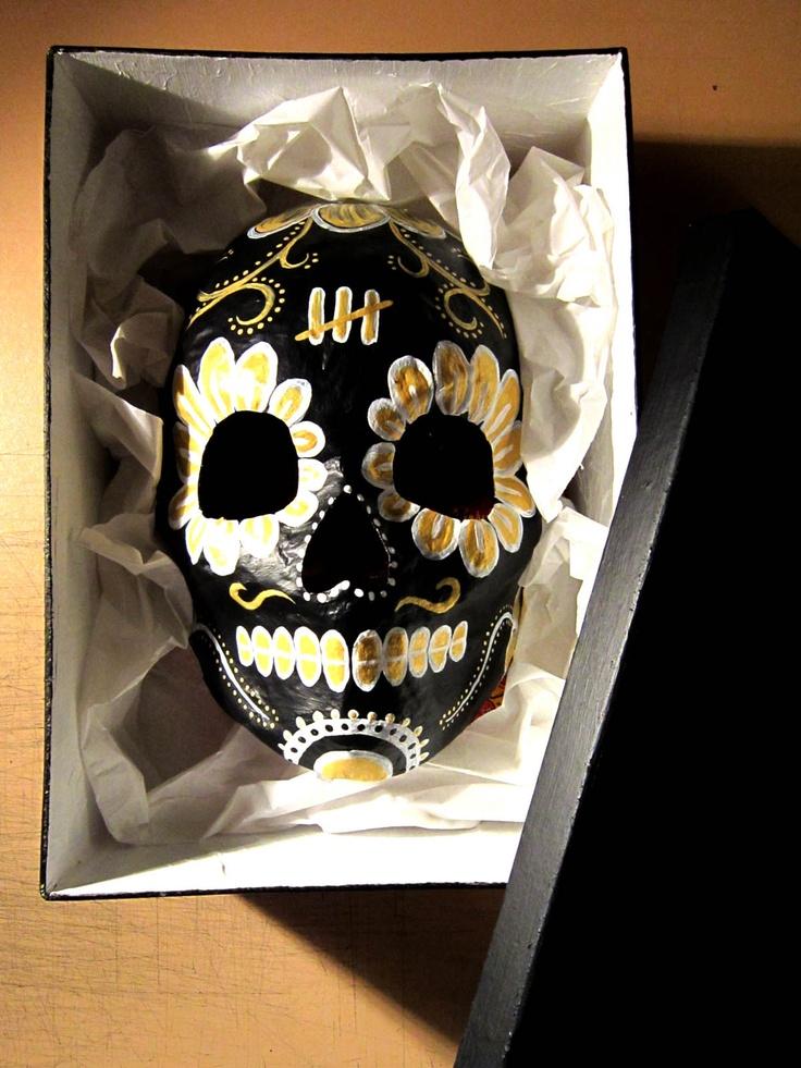 Black n Gold CALACA with matching box
