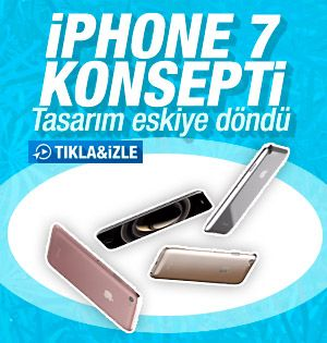 iPhone 3G'ye benzetilen iPhone 7 konsepti