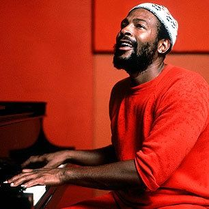 "Marvin Gaye (1939 – 1984),  American Singer-Songwriter,Musician with a three-octave vocal range. Ranked as Motown's, Tamla labels top-selling solo artist in 1960s. Crowned ""The Prince of Motown"" ""The Prince of Soul"". with solo hits such as ""How Sweet It Is (To Be Loved by You)"", ""I Heard It Through the Grapevine,"" His work early/mid-1970s included albums, What's Going On, Let's Get It On, and I Want You.1982 Grammy-Award winning hit, ""Sexual Healing"" album Midnight Love before his death."