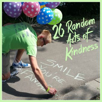 I decided to celebrate my 26th Birthday by doing 26 Acts of Kindness! Check out my adventure at  RecklesslyAlive.com