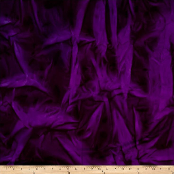 Hudson Bay Rayon Challis Solid Purple from @fabricdotcom  This 100% rayon challis has a smooth, soft, and cool…