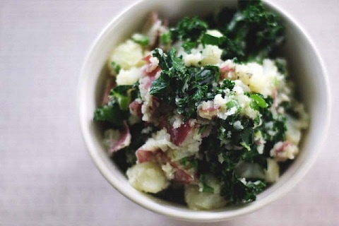 Colcannon (from So Good & Tasty)Colcannon, Olive Oil, Almond Milk, Mashed Potatoes, Other, St Patricks Day, Emeralds Isle, Irish, Food Recipe