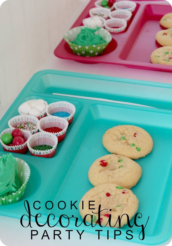 how to throw a cookie decorating party - perfect holiday activity or party idea for kids