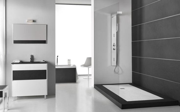 Piatto doccia acquabella mod slate bagno master - Piatto doccia 70x85 ...