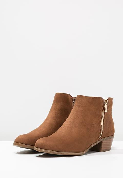 WRAPY - Boots à talons - brown - ZALANDO.FR