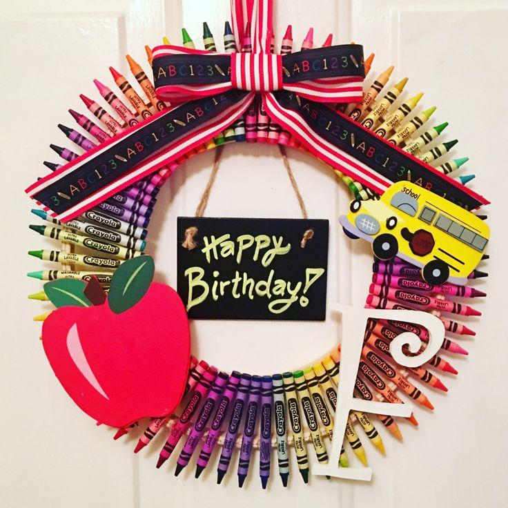 1000+ Ideas About Teacher Birthday On Pinterest