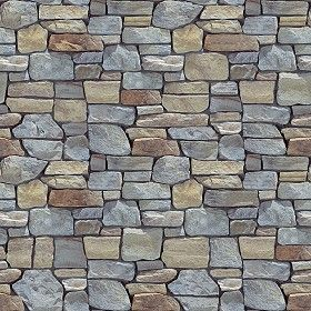 Textures Texture Seamless Wall Cladding Stone Mixed Size