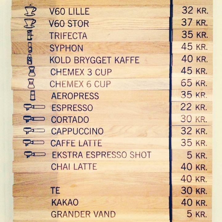 amazing coffee menu (source: DCILY)