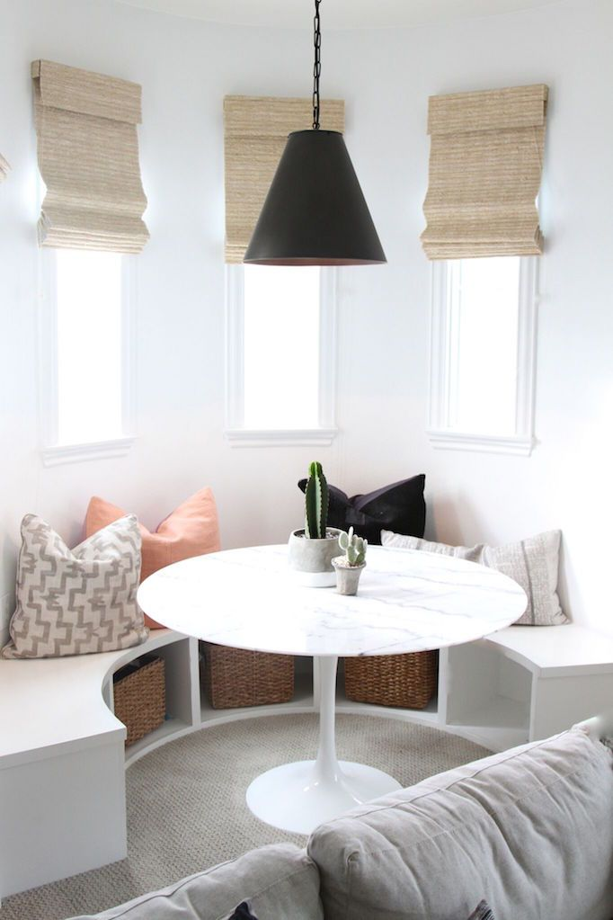BECKI OWENS- How to Transform a Playroom into a Teen Hangout. See transformation tips and before and afters today on the blog.