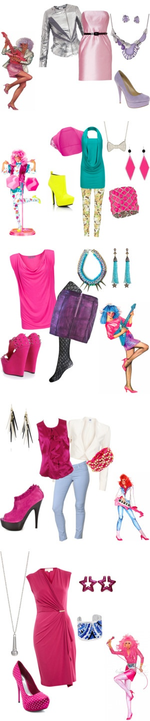 """Jem and the Holograms"" by corrine-syster on Polyvore"