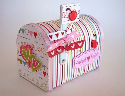 valentine paper photo frames
