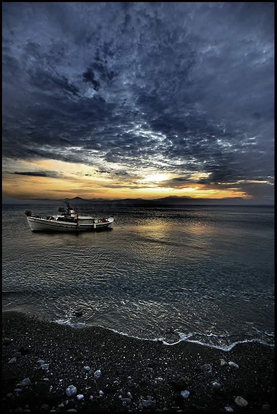 Loutraki is a seaside resort on the Gulf of Corinth, Greece.