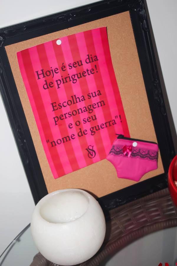 Confira o Luxo do Chá de Lingerie da Samanta, que contou com assessoria e decoração da empresa M Paraiso, especialida em eventos intimistas.