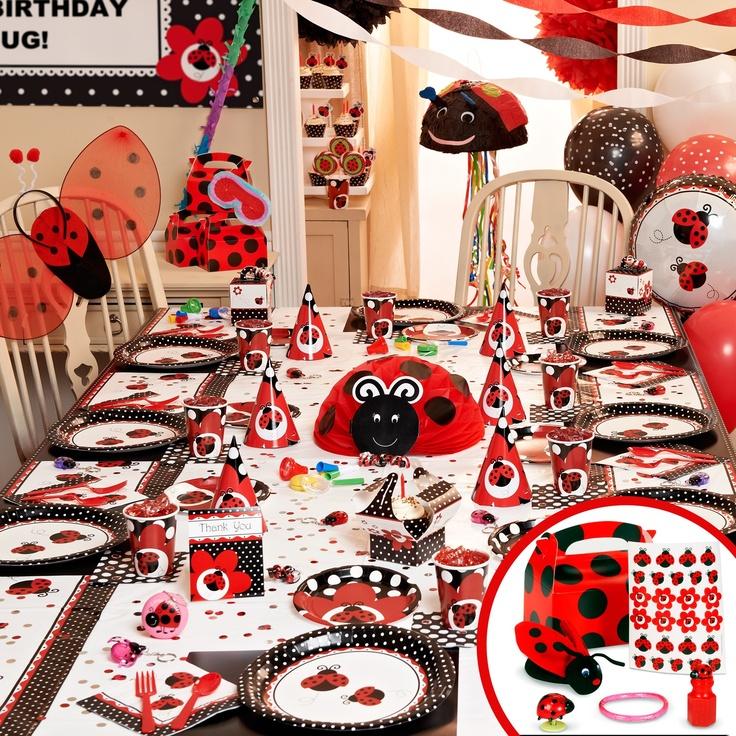 25+ Unique Ladybug Party Supplies Ideas On Pinterest