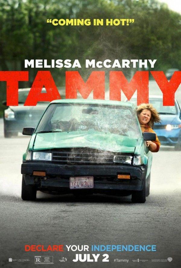 Confira o novo pôster de Tammy, comédia com Melissa McCarthy e Susan Sarandon