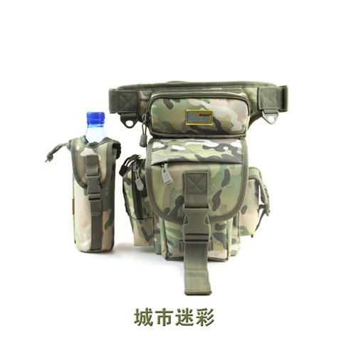 ILURE LARGE SPORT BAGS WATERPROOF FISHING TACKLE TOOLS BAG BACKPACK 29*22*12 CM CAMOUFLAGE