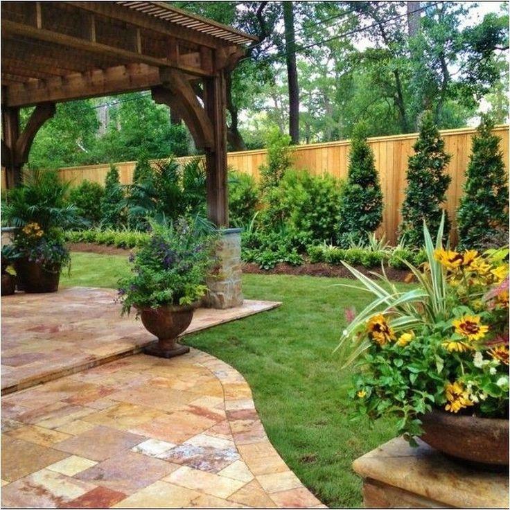 30 classy backyard garden ideas with fence design on backyard garden fence decor ideas id=17684