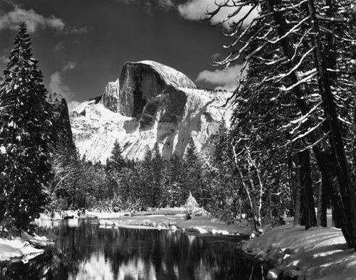 Ansel genius Adams.: Yosemite National Parks, Winter, Merc Rivers, Art Prints, Anseladam, Rivers T-Shirt, Ansel Adams, Half Domes, Photo