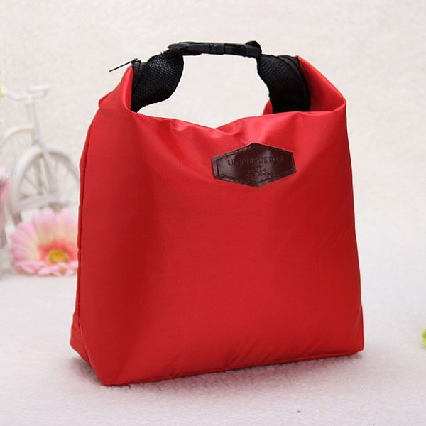 Q, Insulated Cooler Lunch Storage Picnic Bag