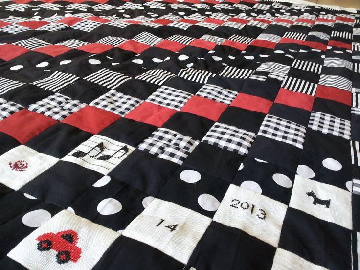 Met deze patchwork sprei en deken instructiezijn eindeloos veel…