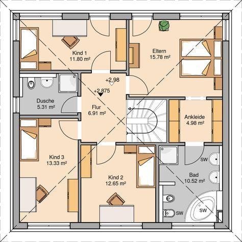 Die besten 25+ Grundriss bungalow 150 qm Ideen auf Pinterest - badezimmer grundriss planen