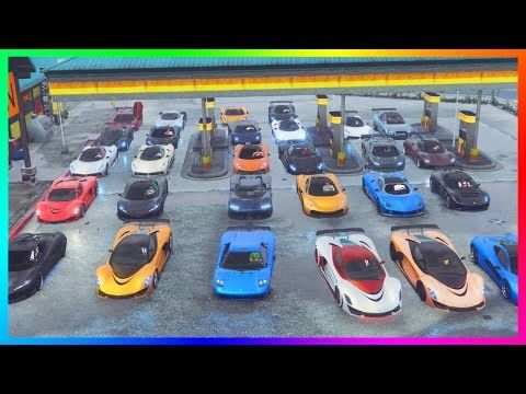 Nice Gta Online Ultimate Super Car Special Best Super Car Garages Fastest Gta 5 Vehicles Hyper Cars Super Cars Gta Gta 5