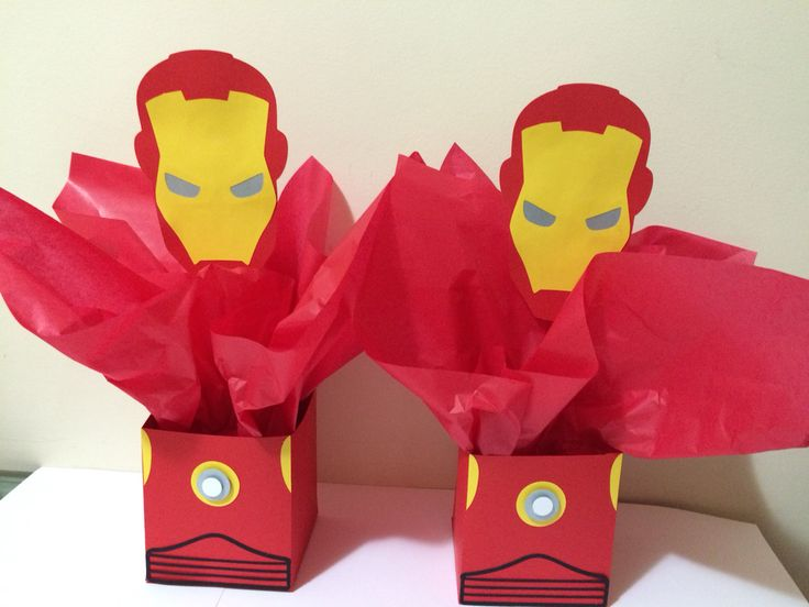 Centro de mesa Homem de Ferro, Iron Man @papelintte
