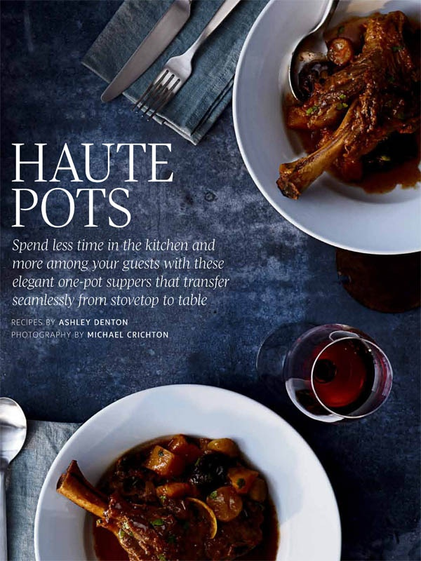 Recipes and food styling:  Ashley Denton, Judy Inc  Tabletop:  Stephanie Saunders, Judy Inc