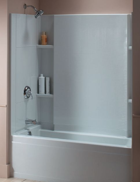 soaking tub with shower enclosure | Sterling Tub/Shower Systems