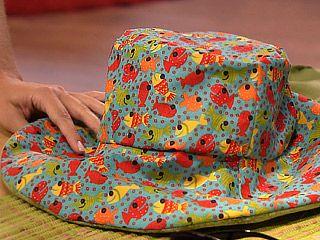 Chapéu de tecido – Como fazer passo a passo