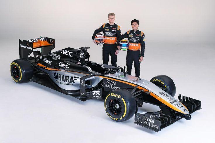 Force India, svelata in Messico la livrea 2015