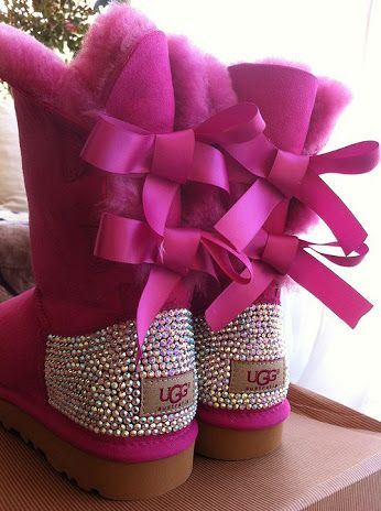 #Original #UGG #boots Covered with some AB Crystals by #BlingBoutiqueMarbella