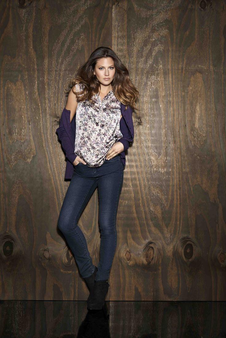 soyaconcept - knit - cardigan - blouse - shirt- jeans - pants