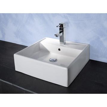 perfect vasque poser sumba blanc leroy merlin with leroy merlin vasque poser. Black Bedroom Furniture Sets. Home Design Ideas