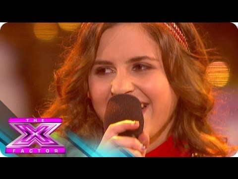 """Carly Rose Sonenclar's Holiday Song """"All I want for Christmas is you"""" - THE X FACTOR USA 2012 (2012-12-20)"""